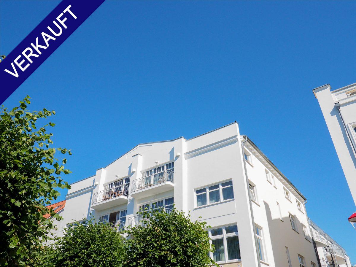 Ostseebad Binz: 1-Zimmer-Apartment mit Balkon