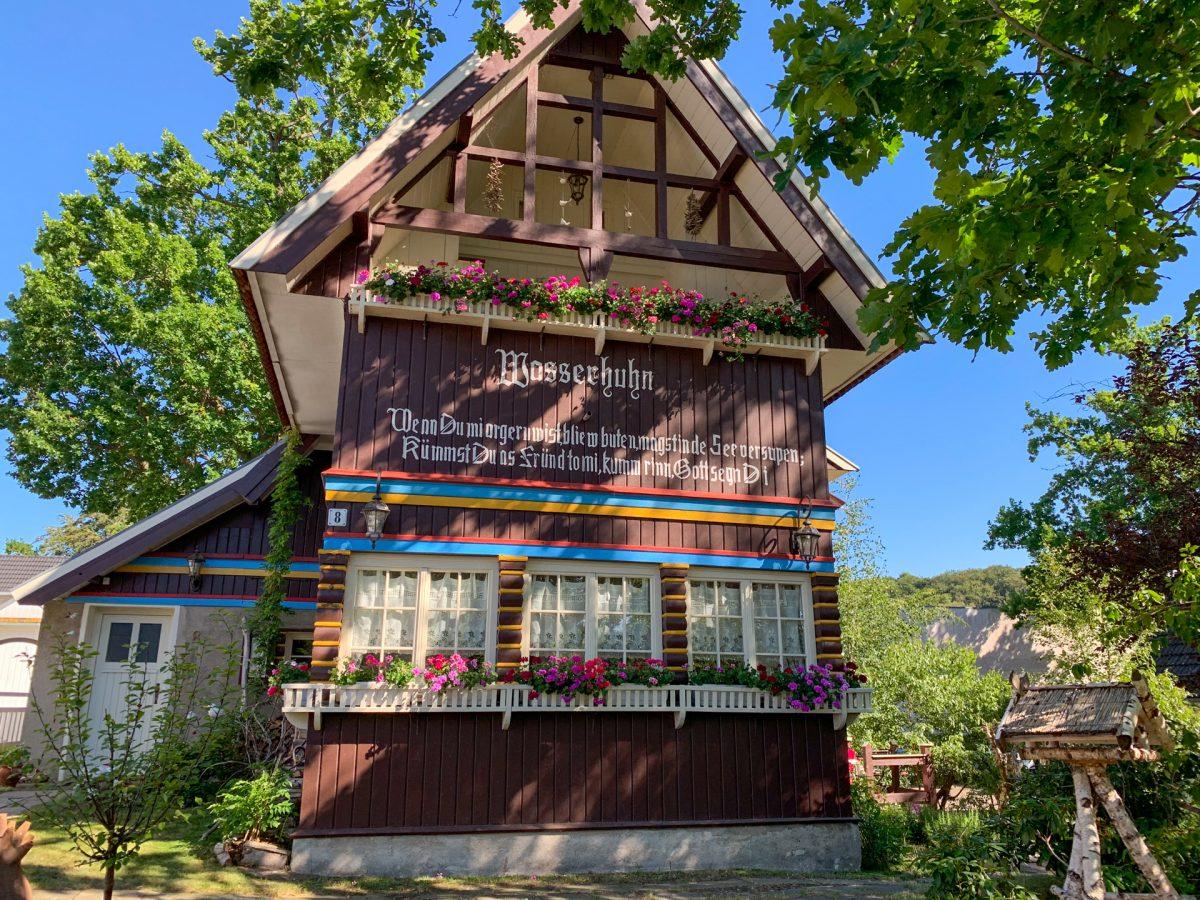 Historisches Einfamilienhaus im Ostseebad Binz